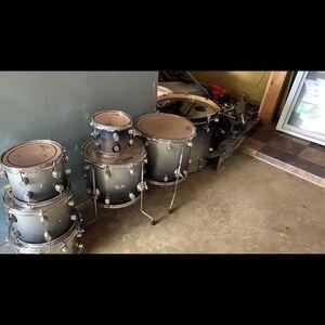 PDP 7 piece drum set